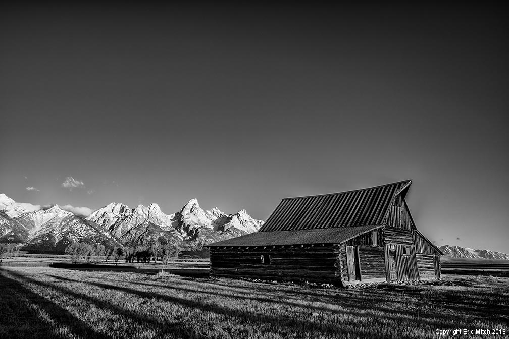 Moultan Barn at Mormon Row Grand Tetons