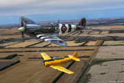 Spitfire MkIX and Hardvard Air-to-Air Warren