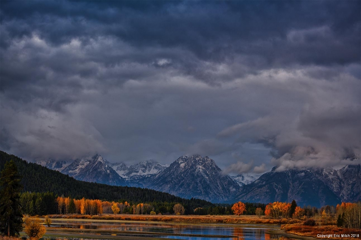 Grand Tetons Mount Moran