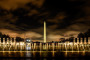 Washington Monument at the WWII Memorial