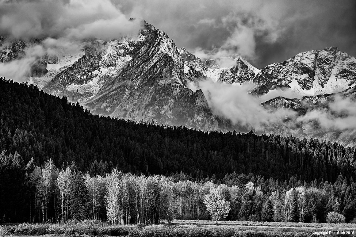 Mount Moran at Oxbow Bend Grand Tetons