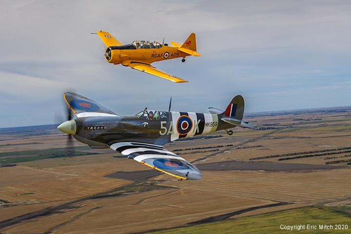 Spitfire Mk IX Saskatchewan Canada