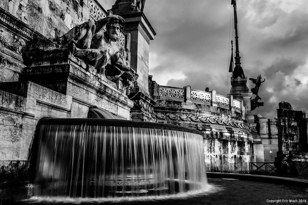 Water fountain Altare della Patria